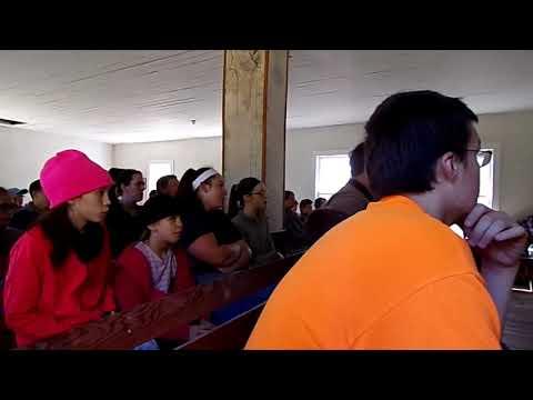 """At the Cross""  Liberty Faith Church -- Buffalo River Hike"