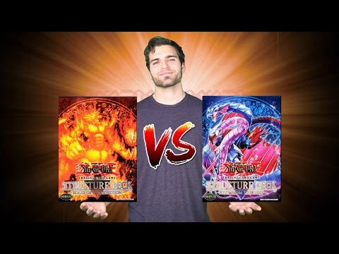 YuGiOh Structure Deck Opening and Review! Blaze of Destruction vs Fury from the Deep