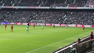 2019-03-30 SV Werder Bremen - 1. FSV Mainz 05  3-1 - Tor Max Kruse