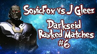 SONICFOX VS J GLEEZ!?! | Darkseid Online Matches #6 | Injustice 2