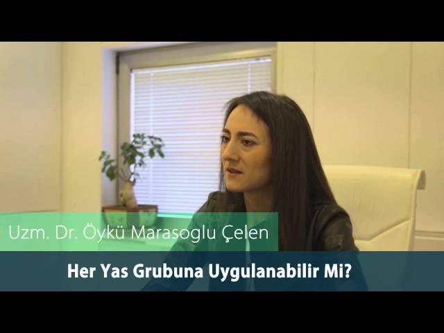 Dr. Öykü Maraşoğlu Çelen - Botoks Her Yaş Grubuna Uygulanabilir mi ?