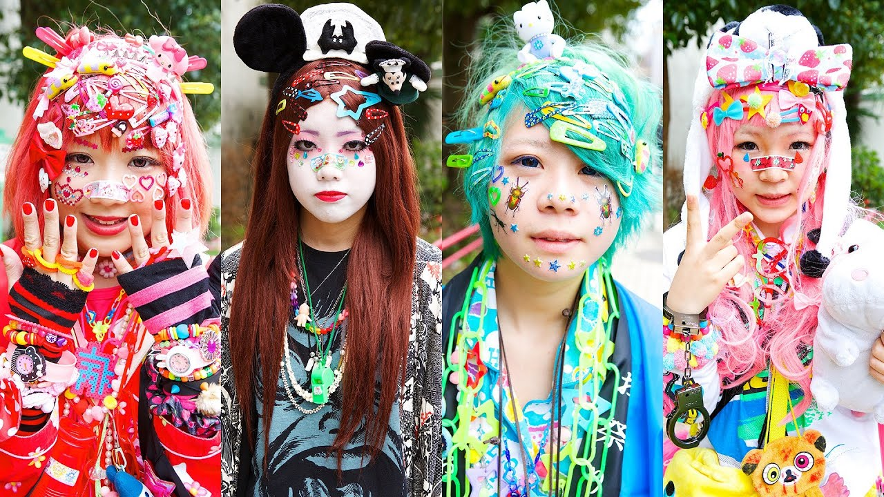 Decora Harajuku Decora Fashion デコラファッション Youtube