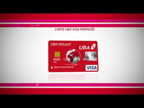 UBA carte visas prépayée by Lpgz