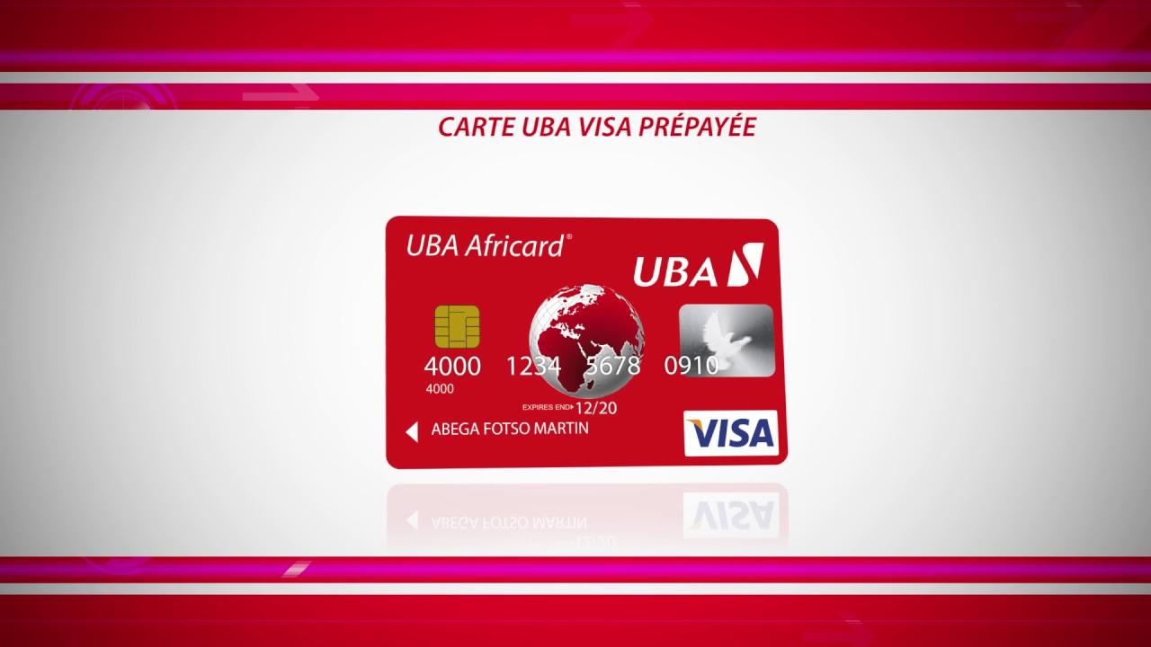 Carte Prepayee Uba.Uba Carte Visas Prepayee By Lpgz