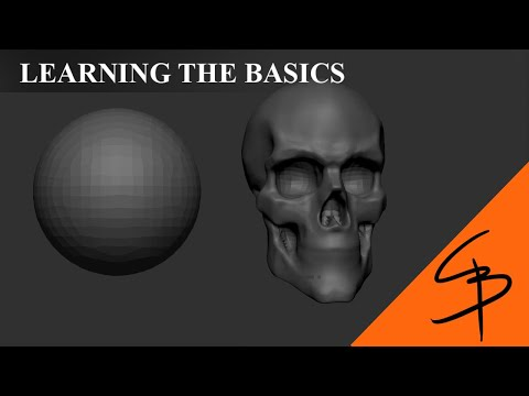 zbrush-for-beginners---sculpting-a-skull