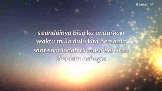 Lirik  Syafiq Farhain -sayang Maafkan Aku