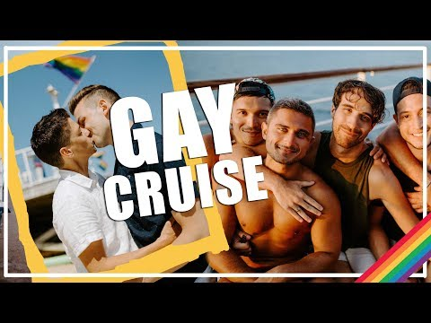 OUR FIRST GAY CRUISE | Michael & Matt Gay Travel