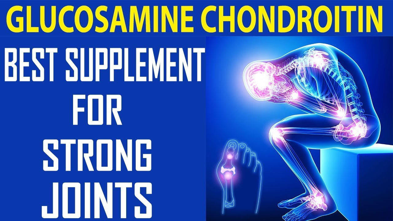 Glucosamine Chondroitin Best Supplement For Joint And knee ...