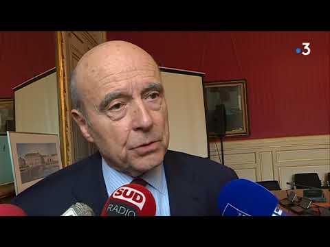 Politique de stationnement à Bordeaux : l'interview d'Alain Juppé en marge du conseil municipal