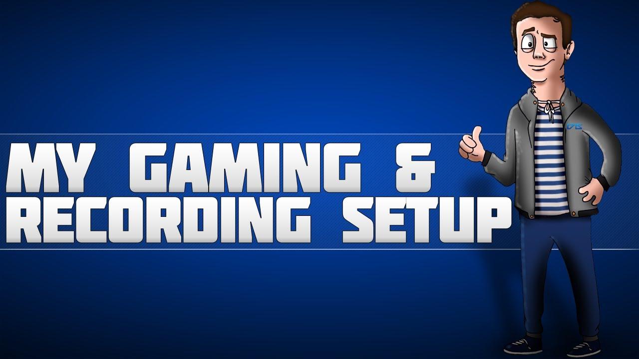 My Gaming Setup / Recording Setup [MUST SEE] - YouTube