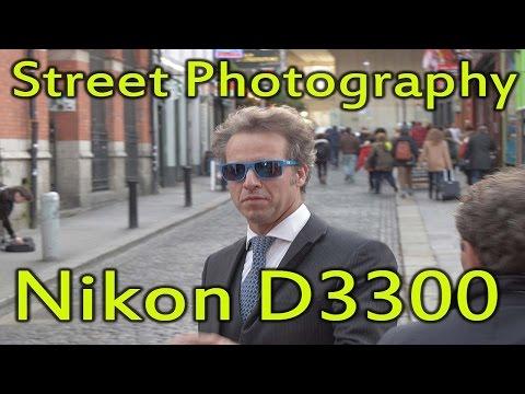 Dublin Street Photography test with Nikon D3300 18-55mm kit lens