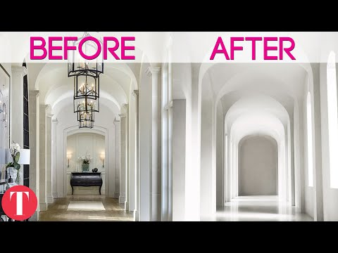 Kim Kardashian And Kanye West's House Before And After Their Marriage