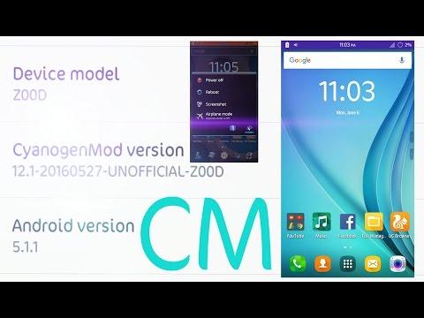 Asus Zenfone 2E Custom ROM Videos - Waoweo