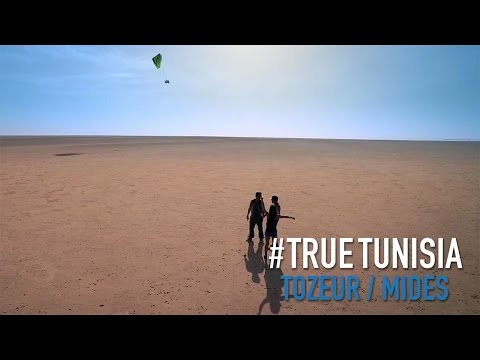 Tozeur, Mides, Tamerza and paragliding fly above Chott El Jerid... True Tunisia / season 2  (day 6)