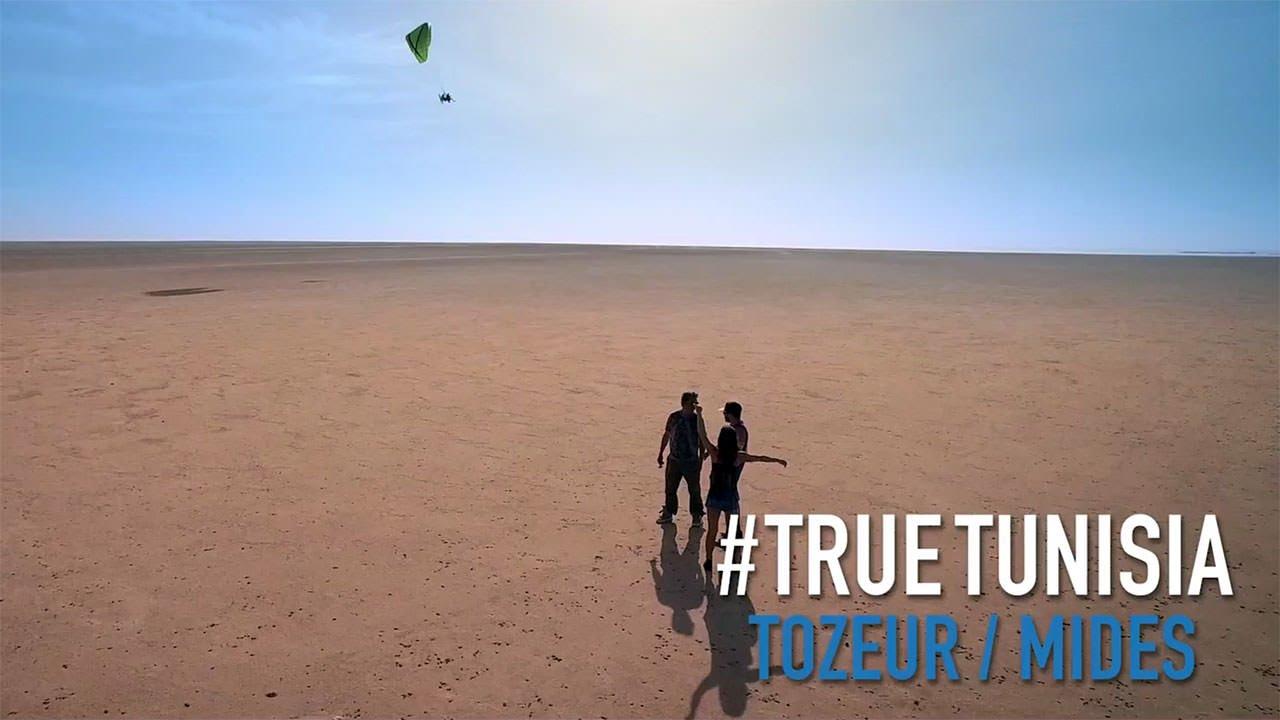 Tozeur, Mides, Tamerza and paragliding fly above Chott El Jerid... True Tunisia / season 2  (day 6)