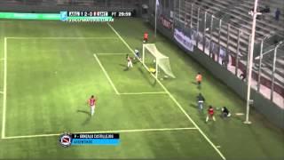 Gol de Castillejos. Argentinos 2 - San Martín (T) 0. 32avos. Copa Argentina 2015. FPT.