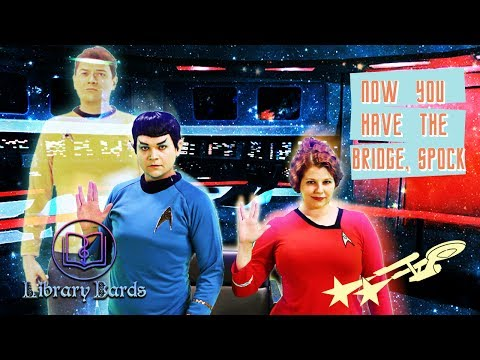 "Now You Have The Bridge, Spock (Star Trek Parody of ""Hit Me With Your Best Shot"" by Pat Benatar)"