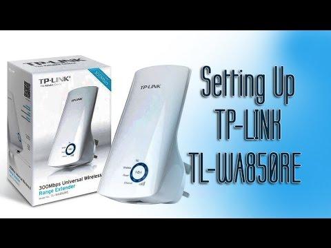 How To Setup Tp Link Tl Wa850re Wifi Range Extender Youtube