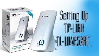 How to Setup TP-LINK TL-WA850RE Wifi Range Extender