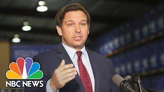 Florida Gov. Desantis Gives Update On Coronavirus | Nbc News Live Stream Recording