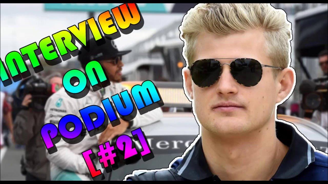 Interview on podium (Bahrain Grand Prix)