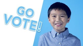 Get Out The Vote - Kids Save The Day!