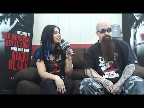 "Slayer's Kerry King ""Gary's my hero"" at Mayhem Festival 2012"