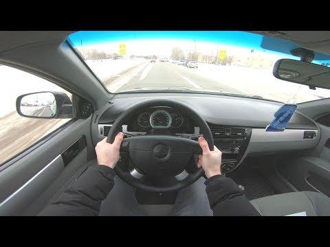 2011 CHEVROLET LACETTI 1.4L (95) POV TEST DRIVE