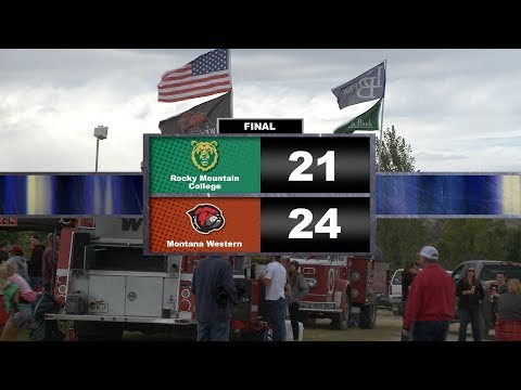 Football Rocky Mountain College @ UM Western 091518