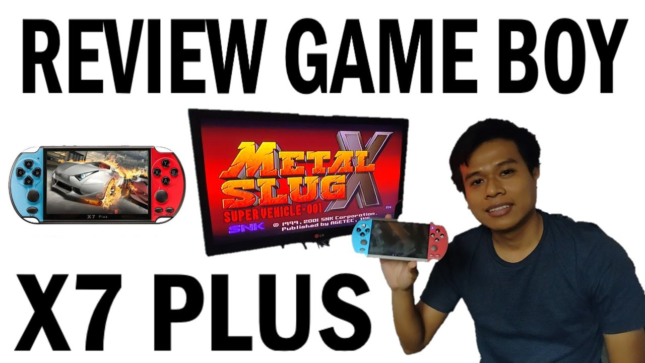 REVIEW GAME BOY X7 PLUS 2020, FAKE NINTENDO SWITCH & PSP CONSOLE ?