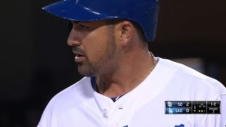 SD@LAD: Gonzalez's three-homer, four-hit game