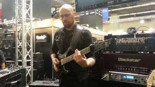 Andy James - Musikmesse 2014