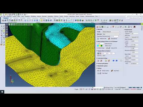 VISI Progress Springback Solver - Tutorial | VISI CAD/CAM
