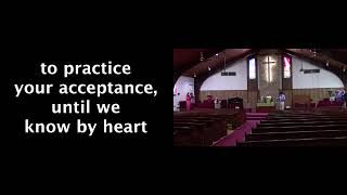 August 23rd LVC 10:45 worship