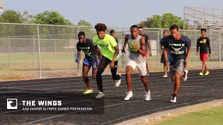 The Wings 4x400m Workout | AAU Junior Olympic Games Prep