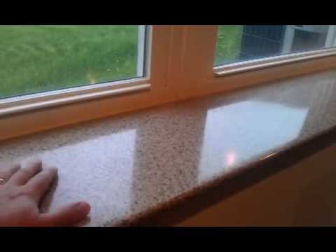 Cultured Marble Window Sills - YouTube