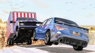 Cliff Drops & Crashes #1 - BeamNG Drive