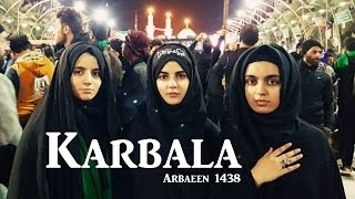 Hashim Sisters Reciting Live in Karbala