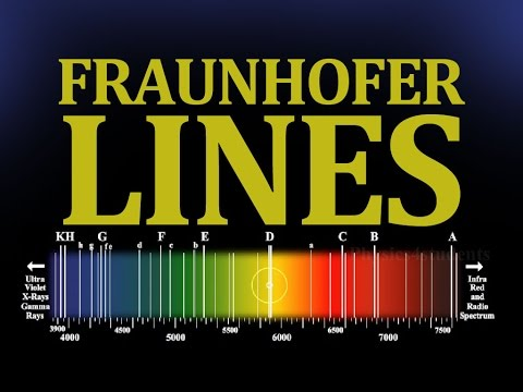 What is Fraunhofer Lines - Definition with Example