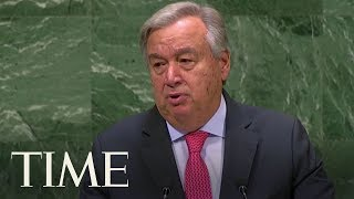 U.N. Chief Says The World Is Suffering From A Bad Case Of 'Trust Deficit Disorder' | TIME