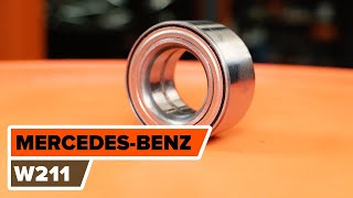 Fitting Motor mount MERCEDES-BENZ E-CLASS (W211): free video