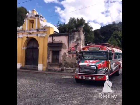 Chan Tube グアテマラ アンティグア ティカル遺跡 コーヒー農園など Antigua, Tikal, Coffee farm,Guatemala