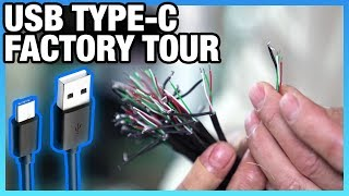 Why USB3 Type-C Isn't on More Cases | How Cables Are Made Factory Tour