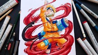 Drawing NARUTO like Masashi Kishimoto