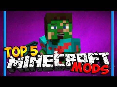 Top 5 Minecraft Mods 1.6.4/1.7.2/1.7.10 (Minecraft 1.6.4) (Minecraft 1.7.2) (Minecraft Top 5 ...