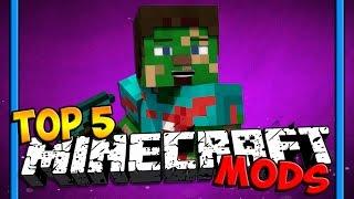 Top 5 Minecraft Mods ( Minecraft 1.7 / 1.8 / 1.9 ) - 2016 [HD]