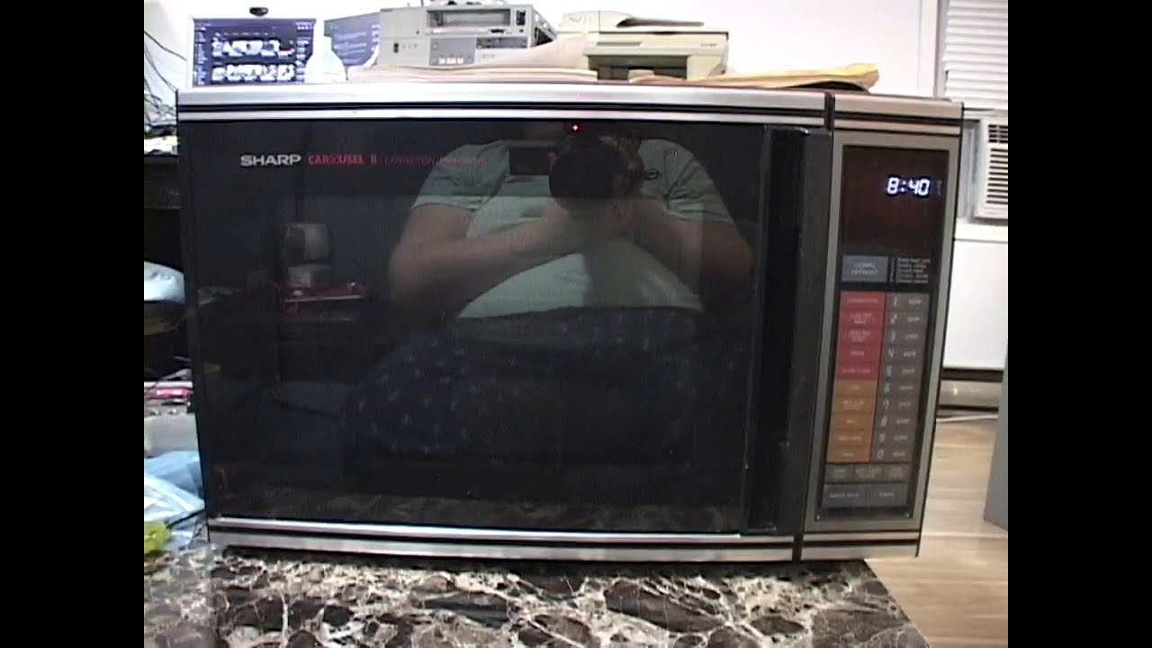 sharp carousel ii r 8460 convection microwave oven 1985