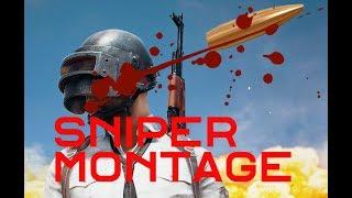 BOOM HEADSHOT! PUBG Sniper Montage
