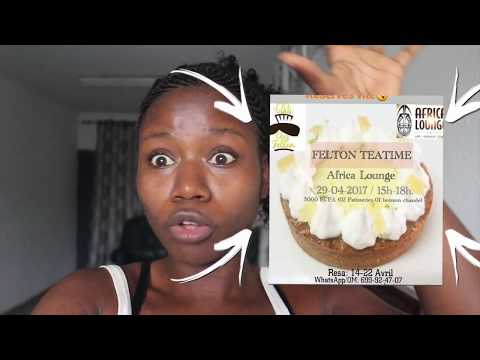 DOUALA EVENTS : CAMEROON VLOG, THE TEA TIME BY THE CHEZ FELTON