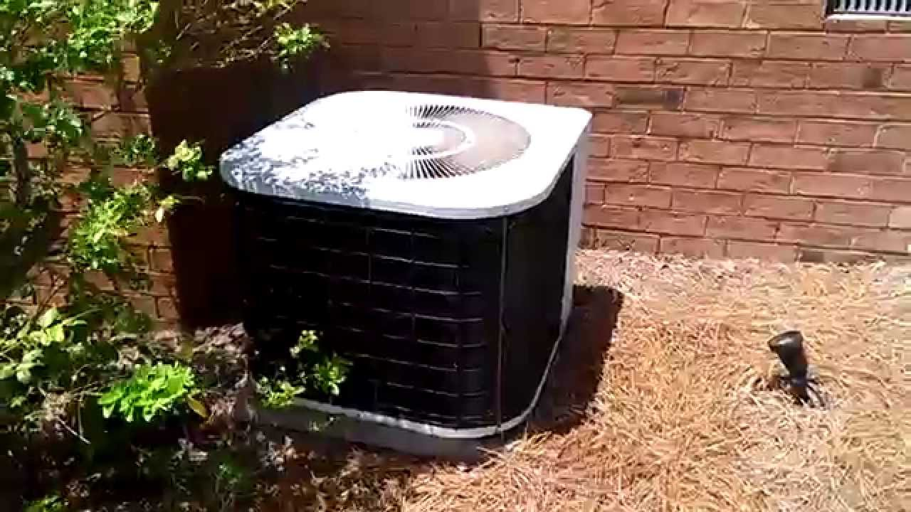 Dying 1990 2 5 Ton Tempstar Heat Pump Running In Cool Mode And A 2007 Rheem Clic